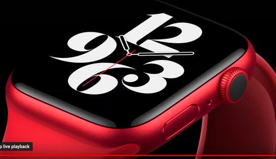 New Apple Watch series 6 is available in red