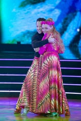 """""""Tiger King"""" star Carole Baskin and her pro partner Pasha Pashkov made their """"Dancing with the Stars"""" debut on Monday, Sept. 14, 2020."""
