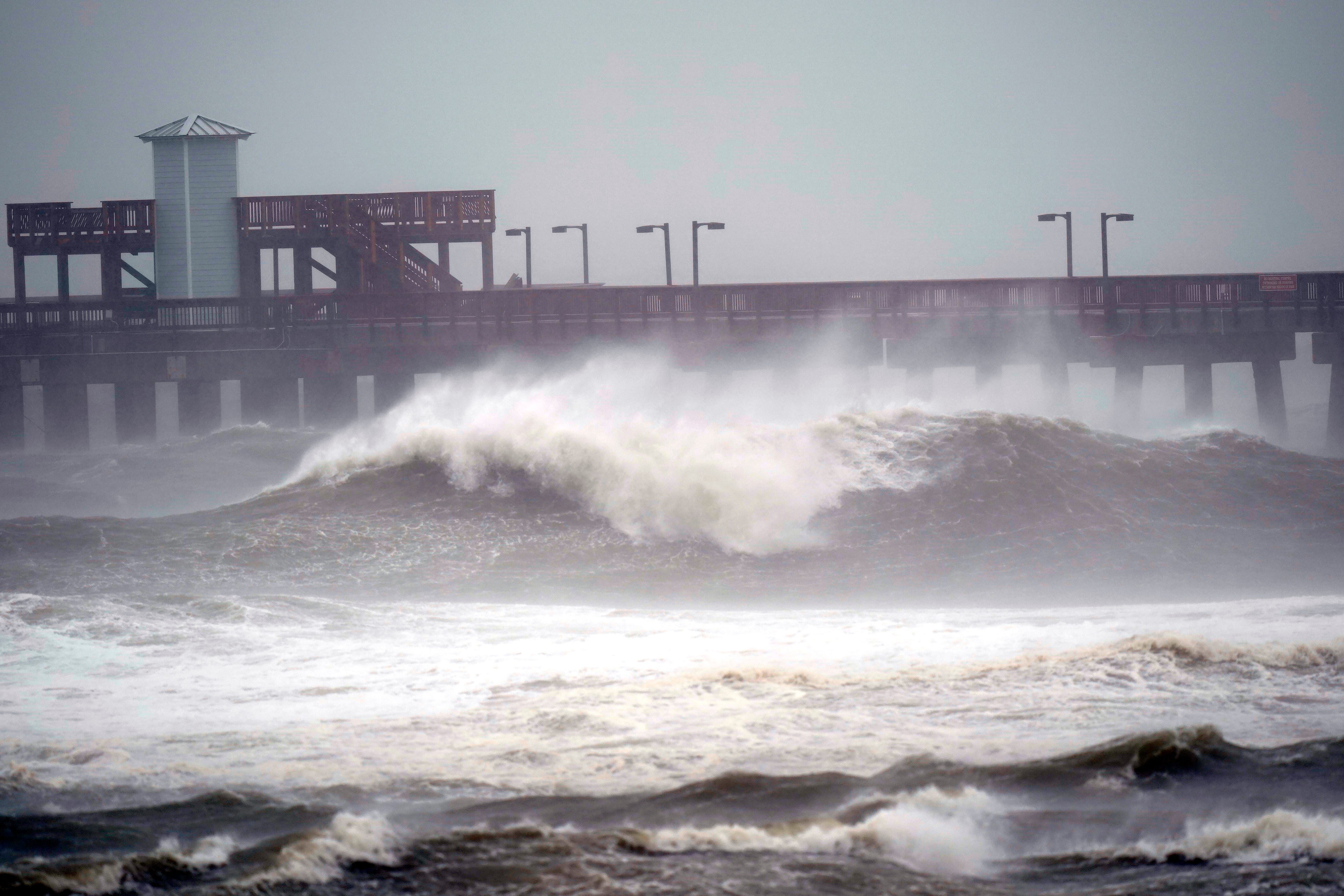 Slow-moving Hurricane Sally crawls toward Wednesday landfall, threatens to bring  historic  flooding to Gulf Coast
