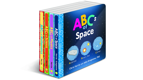 Best gifts for babies: Colorful scientific board books