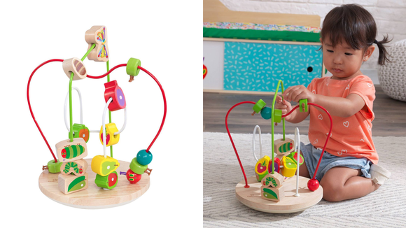 Best gifts for babies: A Very Hungry Caterpillar bead maze