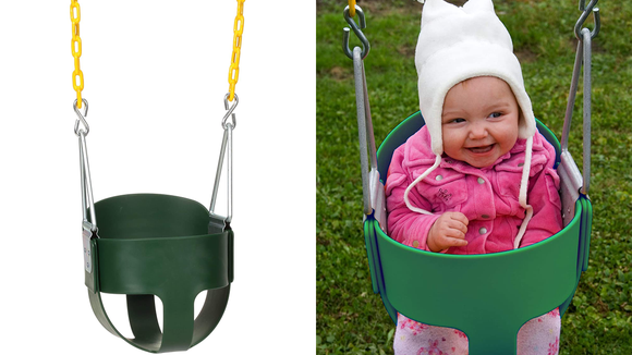 Best gifts for babies: A classic bucket swing