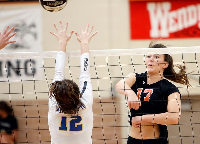 Ashland's Karli Shepherd was named the 2020 Ohio Cardinal Conference Volleyball Offensive Player of the Year.