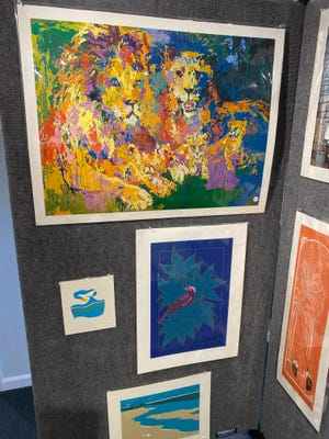 About 100 vintage prints from the 1950s to 1980s are available for auction in the Society of Bluffton Artists' latest fundraiser.