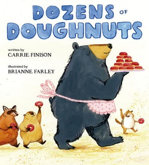 """Dozens of Doughnuts"" by Carrie Finison and Brianne Farley"
