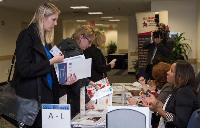 The Department of Defense held its first-ever career symposium tailored to DoD spouses in Washington at George Washington University in the Marvin Center, Dec. 2, 2014.