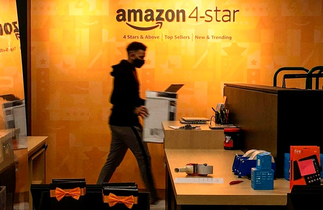 The first Amazon 4-star store in Florida opened in The Gardens Mall in September.