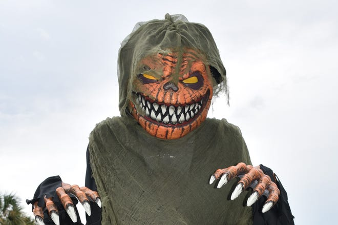 Spooky figures will be on hand for Wellington's Creepy Crawl on Oct. 17.