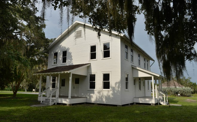 The Edson Keith Farmhouse is being renovated on the 60-acre Phillippi Estates Park.