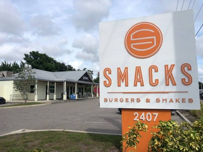 Smacks Burgers & Shakes opened in 2013 at 2407 Bee Ridge Road featuring 100% Angus beef burgers.