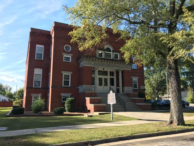 Gadsden City Schools' central office.