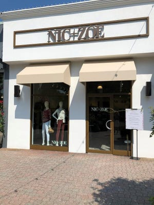 Female fashion brand Nic+Zoe has opened a store at The Grove at Shrewsbury on Route on Route 35.