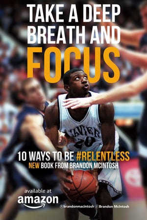 Brandon McIntosh, a former Xavier University men's basketball player who's now a local pastor, recently published a book about his life.