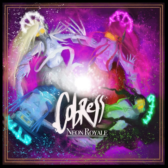 """Synth rockers Cobress have released their 12-song album """"Neon Royale"""" in four """"chapters."""" The last one, """"Air,"""" comes out this October."""