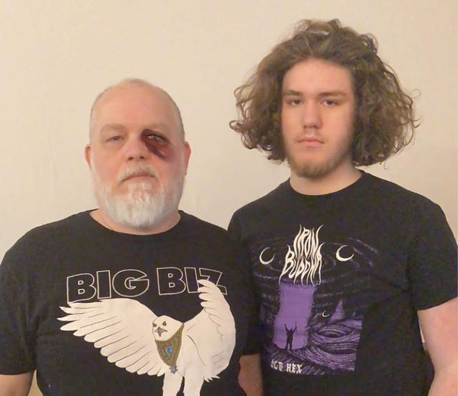 Father-and-son metal duo Dizygote
