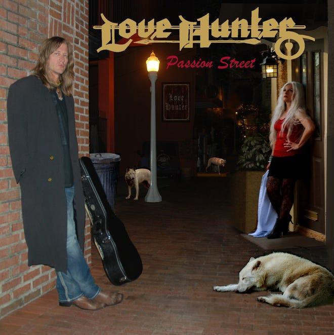 "Love Hunter's new album ""Passion Street"""