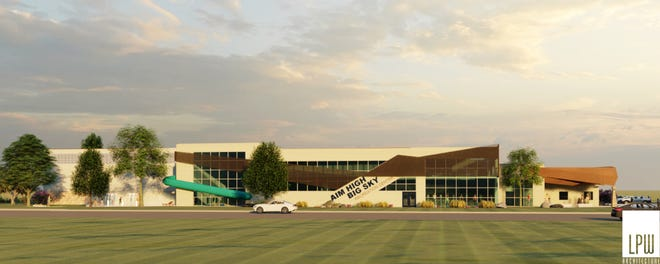 The city of Great Falls has received a $10 million federal grant that will allow construction of a $20 million recreation and aquatics center on the east end of town.