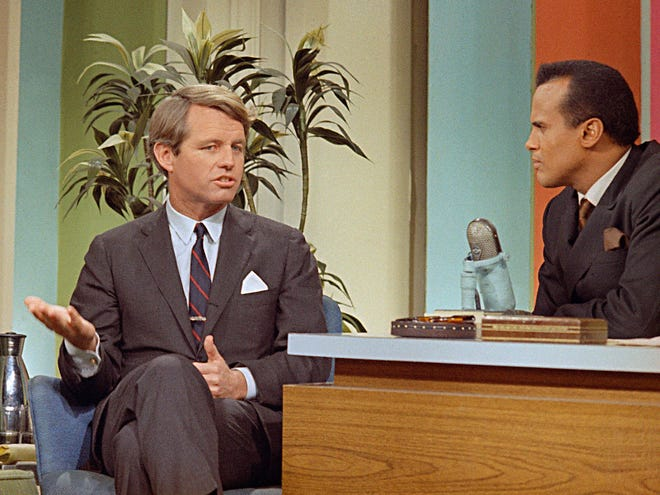 """Harry Belafonte's groundbreaking week pinch-hitting for Johnny Carson is the focus of """"The Sit-In: Harry Belafonte Hosts The Tonight Show,"""" one of the documentaries showing in Milwaukee Film's 2021 Black History Month program."""