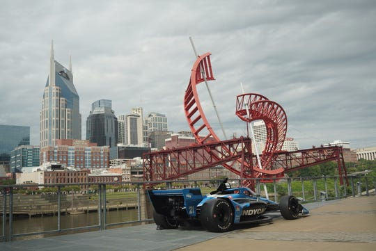 IndyCar officials announced Wednesday details for the series' newest race to the 2021 calendar: Nashville's Music City Grand Prix.