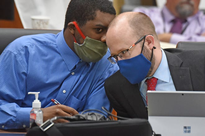Chekiah Washington and his defense attorney, Matthew Williams, were expected to begin calling their own witnesses.