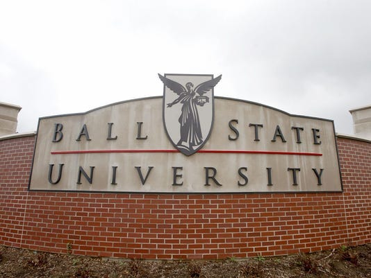 Ball State sign