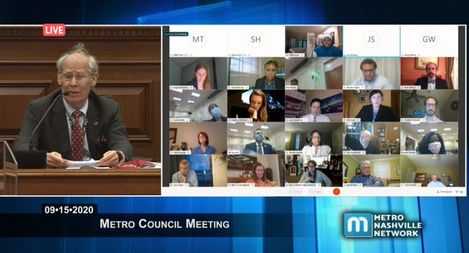 State Comptroller Justin Wilson warned Metro Council about its finances as the city faces a potential $332M budget shortfall if the city's property tax rate is repealed.