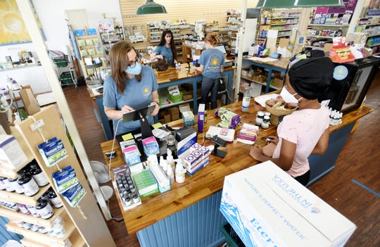 Sunshine Health Market and Cafe staff take a personal approach to customer service.