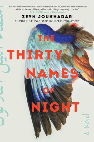 """The Thirty Names of Night,"" by Zeyn Joukhadar, is a lyrical novel following three generations of Syrian Americans linked by a mysterious species of bird, as well as a nonbinary character's journey of self-discovery."