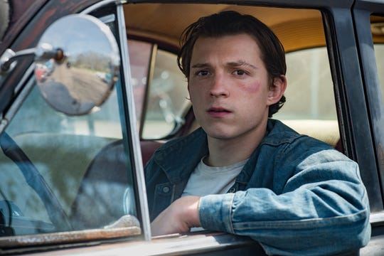 Tom Holland experienced some pain when he played a teenager in the 1960s in the country movie