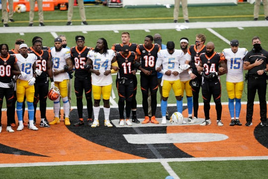 Protests and other political statements from players during the opening week of the season didn't stop fans from watching the NFL in big numbers.
