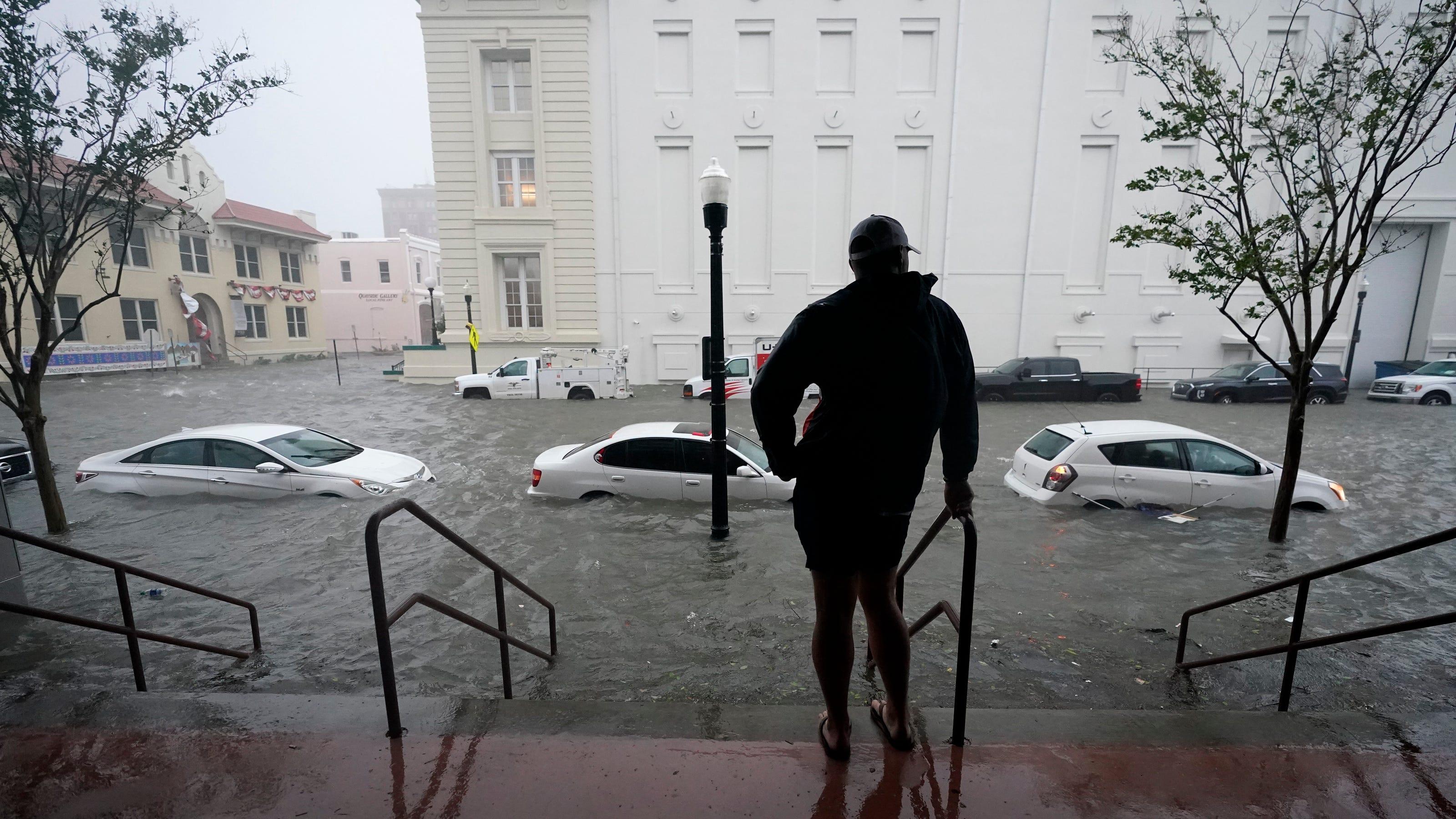 Hurricane Sally tracker, damage: Landfall in Gulf Shores ... Hurricane Sally Tracker Today