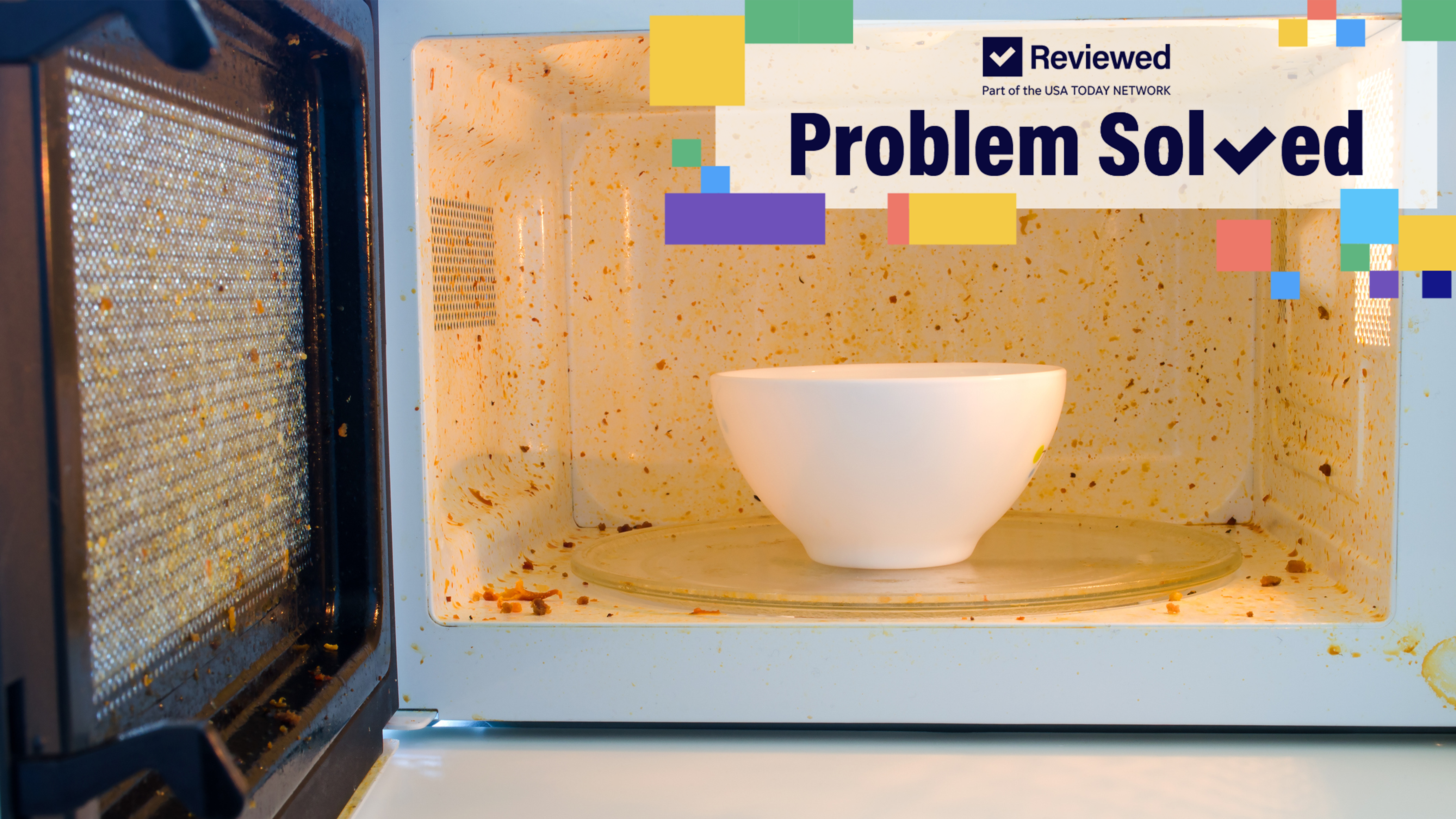 How to clean your microwave with this fruit