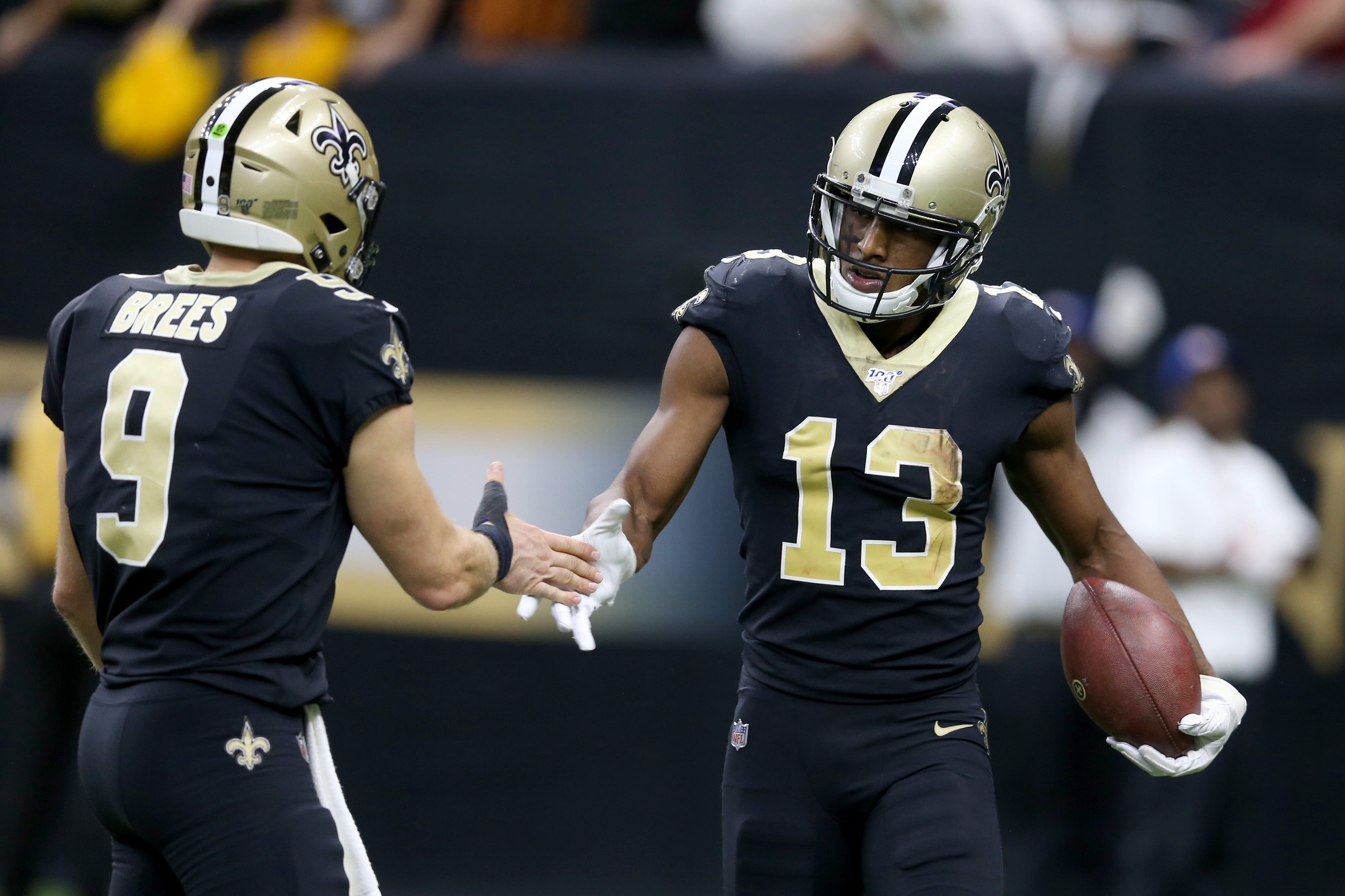 Report: Saints WR Michael Thomas had altercation with teammate, ruled out vs. Chargers