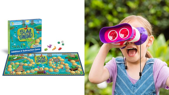 Engage your kids—and make homeschooling less stressful—with these toys and games.