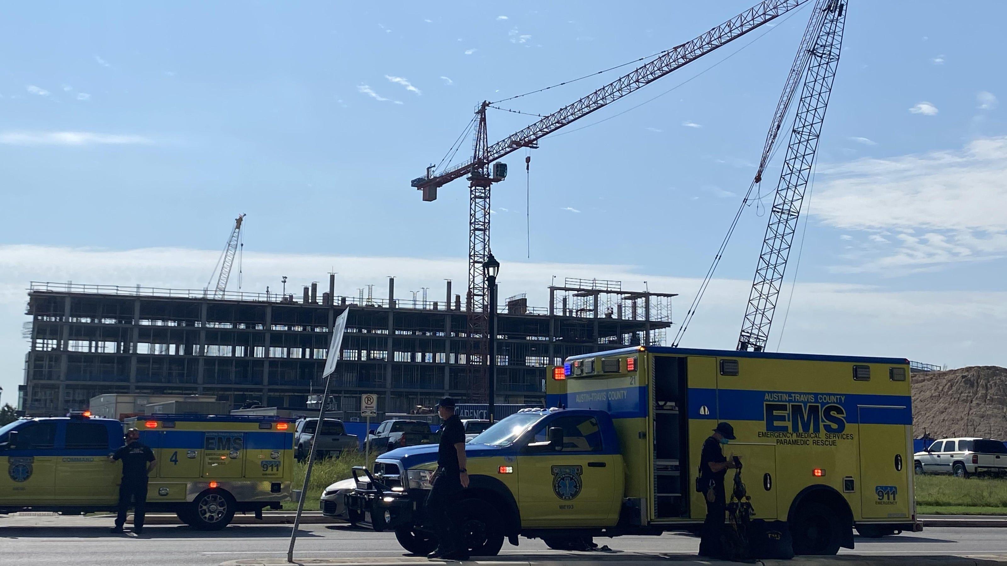 Austin crane collision leaves at least 20 injured, medics ...