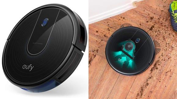 This slim robot vacuum will make short work of messes.