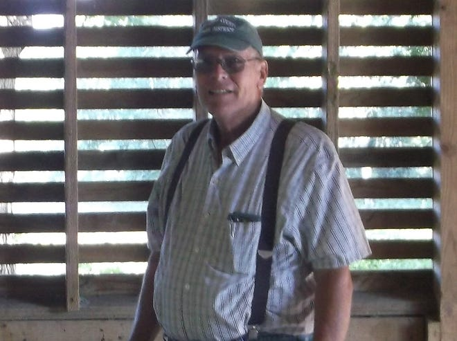Ashlnad County Park District volunteer Jerry Kolb has been the manager of Hurdle Water Fowl Park, Tupelo Bottoms and Sprinkle Serenity since 2017