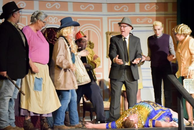 """The Cambridge Performing Arts Center performs """"The Beverly Hillbillies"""". The show opens this Friday and limited tickets are available."""