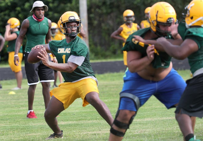 Aaron Manning, who transferred from Atlantic to DeLand in the spring, topped 1,000 yards rushing and passing last season.