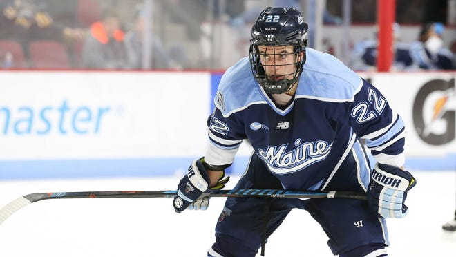 The Kansas City Mavericks have signed former University of Maine standout Brendan Robbins to a professional tryout contract.