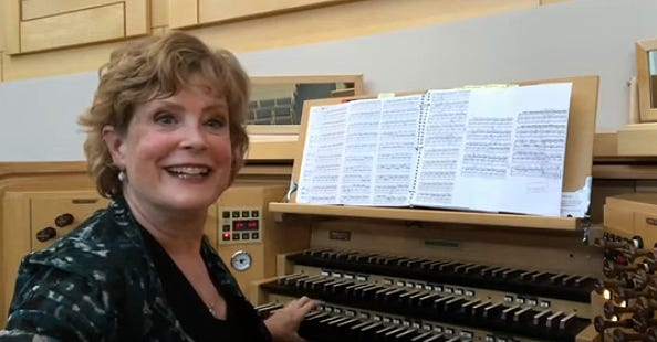 Jan Kraybill, Community of Christ organist-in-residence and a Grammy nominee, has performed several recent videos on YouTube featuring the organs at Community of Christ Auditorium in Independence and the Kauffman Center in Kansas City.