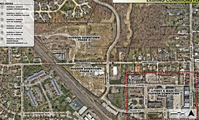 "The downtown ""Phase II"" property in Hudson is mostly undeveloped."