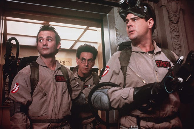 """Ghostbusters"" screens Oct. 23 at the Curbside Cinema drive-in movie series."