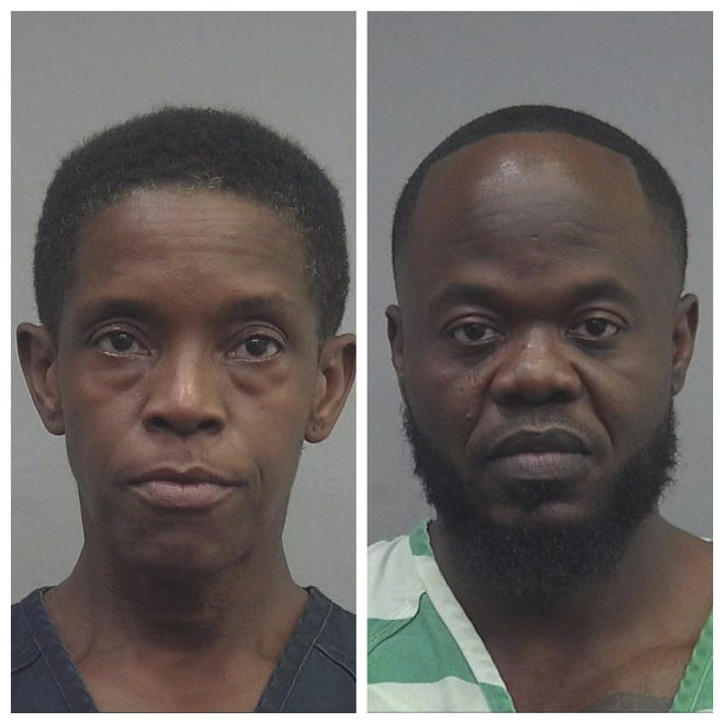 From left: Carla Turner, Chaswan Battle [Alachua County Jail]