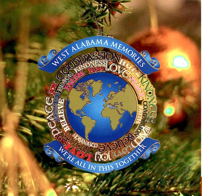 Easterseals of West Alabama's 2020 limited edition Christmas ornament.