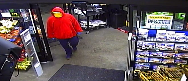 The Boone County Sheriff's Office is attempting to locate this suspect who they say robbed the Dollar General in Walton.