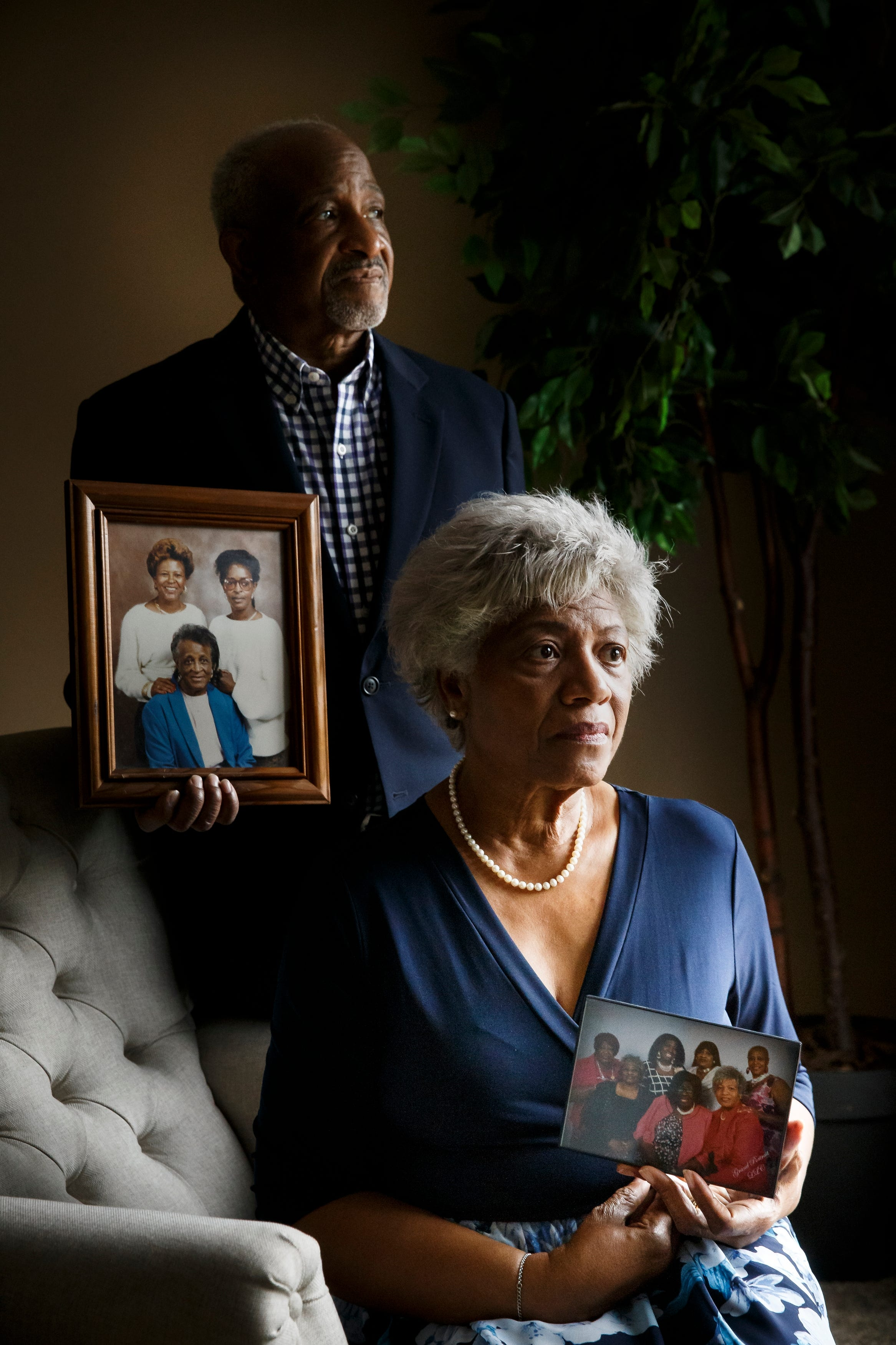Rasheedah Abdullah and her husband, Muhammad, lost three relatives in a matter of weeks this spring — two of whom died from COVID-19.