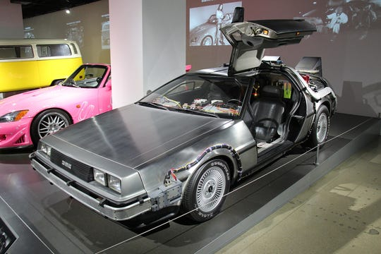 1981 DeLorean DMC-12 Time Machine.