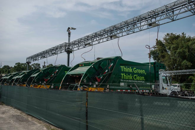 Waste Management is the city of Jackson's garbage service provider, but the city is planning to bid out the contract as it expires in July of 2021.