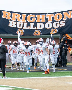 Brighton's football team won't open its season until Sept. 25 after its game scheduled for Friday against Novi was canceled.